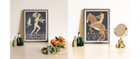 decorative arts women prints