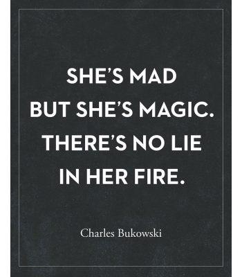 bukowski quote art