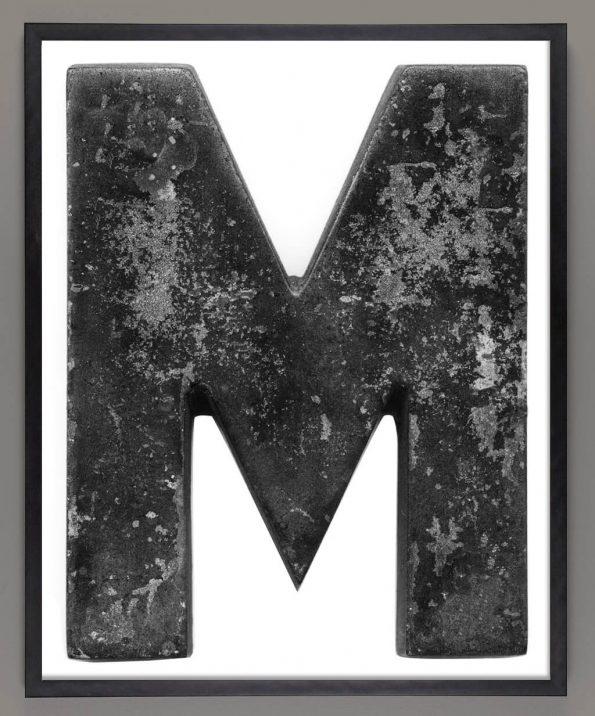 letter m print