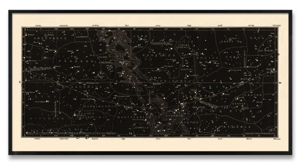 constellation chart print