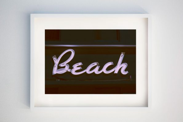 Art Deco Beach Photo (Night)