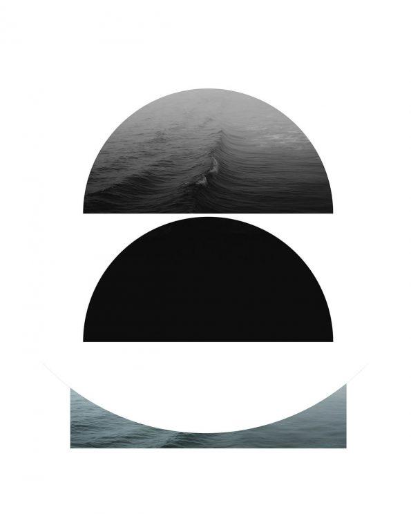 scandinavian geometric print