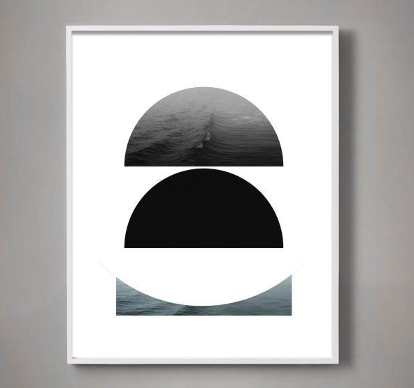minimal geometric art print