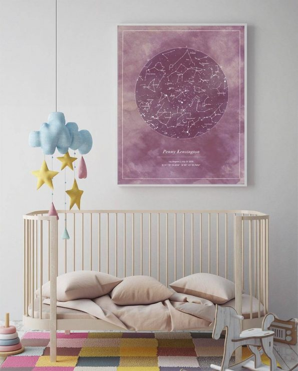 personalized art for nursery
