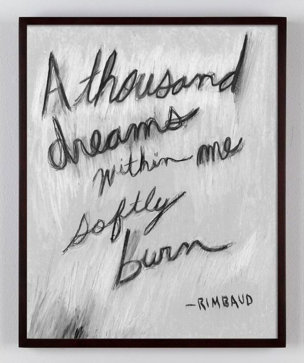 rimbaud poetry quote print