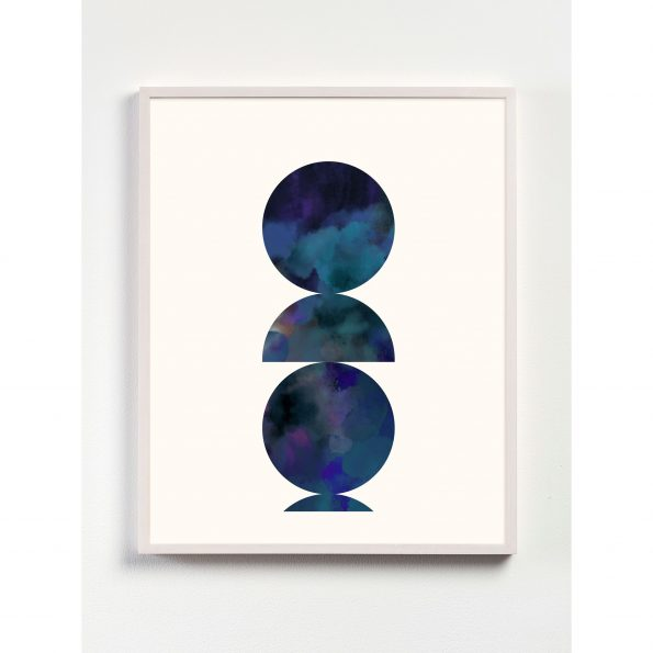art deco geometric print