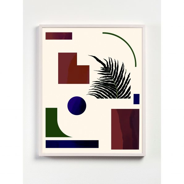 abstract geometric print