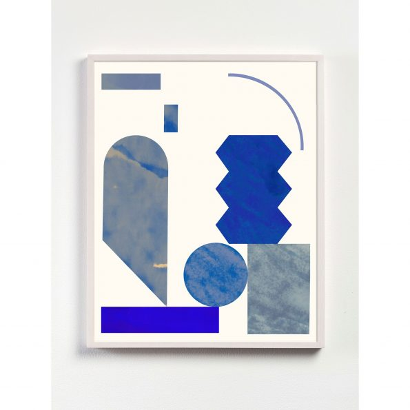 abstract geometric shapes print